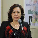 Thạc sĩ, Bác sĩ Vũ Minh Phương – phó giám đốc trung tâm tư vấn phát triển vì sức khỏe cộng đồng